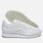 Кроссовки Reebok Classic Leather Solids Italy Pack White фото- 1