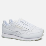 Кроссовки Reebok Classic Leather Solids Italy Pack White фото- 2