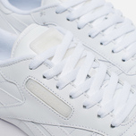Кроссовки Reebok Classic Leather Solids Italy Pack White фото- 3