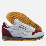 Кроссовки Reebok Classic Leather Speckle Midsole Pack Cloud Grey/Merlot/Alloy фото- 2