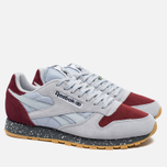 Кроссовки Reebok Classic Leather Speckle Midsole Pack Cloud Grey/Merlot/Alloy фото- 1
