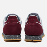 Кроссовки Reebok Classic Leather Speckle Midsole Pack Cloud Grey/Merlot/Alloy фото- 3