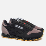 Кроссовки Reebok Classic Leather Speckle Midsole Pack Coal/Moondustst/Black/White/Riot Red фото- 1