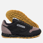 Кроссовки Reebok Classic Leather Speckle Midsole Pack Coal/Moondustst/Black/White/Riot Red фото- 2