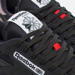 Кроссовки Reebok Classic Leather Speckle Midsole Pack Coal/Moondustst/Black/White/Riot Red фото- 3