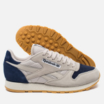 Кроссовки Reebok Classic Leather Speckle Midsole Pack Sand Stone/Blue Ink/Paper White фото- 2
