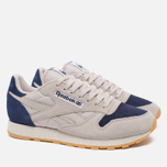Кроссовки Reebok Classic Leather Speckle Midsole Pack Sand Stone/Blue Ink/Paper White фото- 1