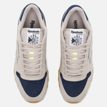 Кроссовки Reebok Classic Leather Speckle Midsole Pack Sand Stone/Blue Ink/Paper White фото- 4