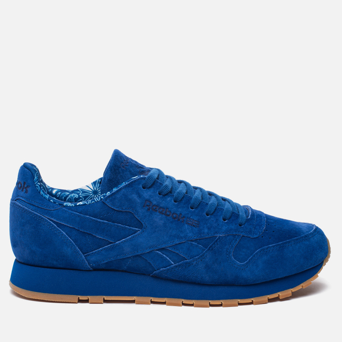 Кроссовки Reebok Classic Leather TDC Collegiate Royal/White/Gum