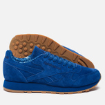 Кроссовки Reebok Classic Leather TDC Collegiate Royal/White/Gum фото- 2