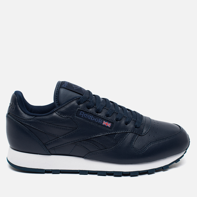 Кроссовки Reebok Classic Leather Premium Collegiate Navy