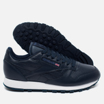 Кроссовки Reebok Classic Leather Premium Collegiate Navy фото- 2
