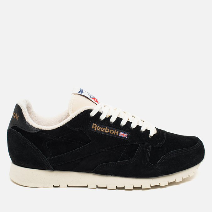 Кроссовки Reebok Classic Leather UJ Black/Chalk/Paper White/Royal
