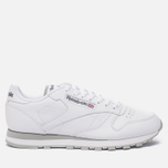 Кроссовки Reebok Classic Leather White/Light Grey фото- 0