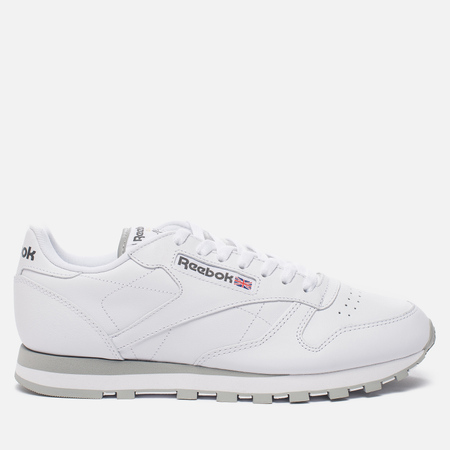 Кроссовки Reebok Classic Leather White/Grey