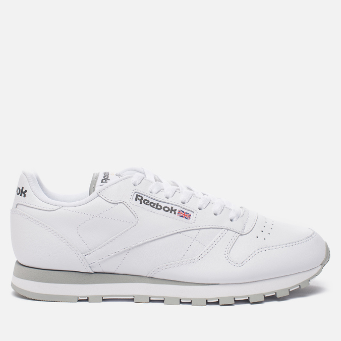 Кроссовки Reebok Classic Leather White/Light Grey