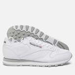 Кроссовки Reebok Classic Leather White/Light Grey фото- 2