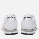 Кроссовки Reebok Classic Leather White/Light Grey фото- 3