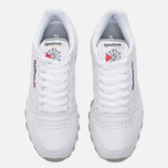 Кроссовки Reebok Classic Leather White/Light Grey фото- 5