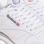 Кроссовки Reebok Classic Leather White/Light Grey фото- 4