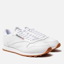 Кроссовки Reebok Classic Leather White/Gum фото- 1