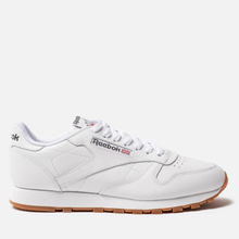 Кроссовки Reebok Classic Leather White/Gum фото- 4