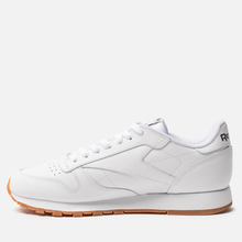 Кроссовки Reebok Classic Leather White/Gum фото- 5
