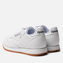 Кроссовки Reebok Classic Leather White/Gum фото- 2