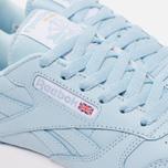 Женские кроссовки Reebok Classic Leather Zee Blue/White/Gum фото- 5