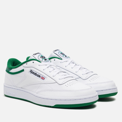 Мужские кроссовки Reebok Club C 85 35th Anniversary White/Glen Green/Black