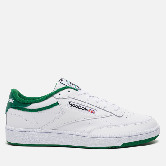 Кроссовки Reebok Club C 85 35th Anniversary White/Glen Green/Black