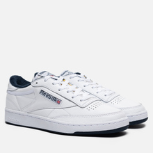 Кроссовки Reebok Club C 85 35th Anniversary White/White/Collegiate Navy фото- 0
