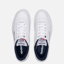 Кроссовки Reebok Club C 85 35th Anniversary White/White/Collegiate Navy фото- 1