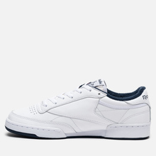 Кроссовки Reebok Club C 85 35th Anniversary White/White/Collegiate Navy фото- 5