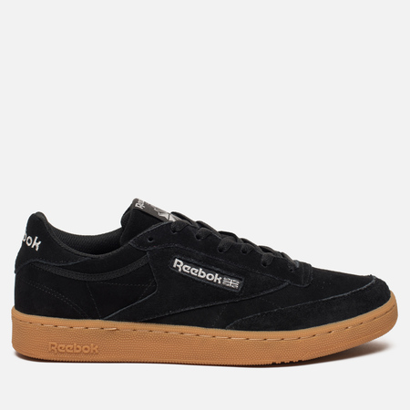 Кроссовки Reebok Club C 85 GS Black/Skull Grey/Gum