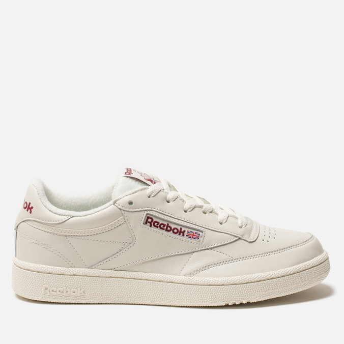 Кроссовки Reebok Club C 85 MU Chalk/Meteor Red