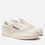 Кроссовки Reebok Club C 85 MU Chalk/Meteor Red фото- 1