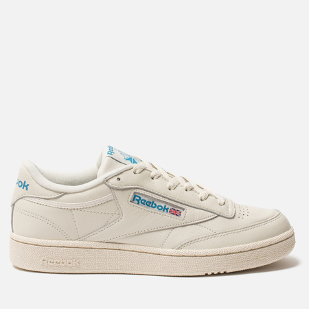 Кроссовки Reebok Club C 85 MU Chalk/Paperwhite/Cyan