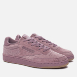 Кроссовки Reebok Club C 85 Seasonal Gum Pack Smoky Orchid/White/Gum фото- 1