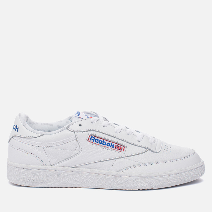 Кроссовки Reebok Club C 85 SO White/Light Solid Grey/Vital Blue/Red/Black