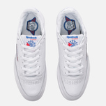 Кроссовки Reebok Club C 85 SO White/Light Solid Grey/Vital Blue/Red/Black фото- 4