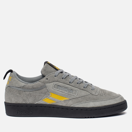 Кроссовки Reebok x Oxxxymiron Club C 85 TG Flint Grey/Primal Yellow/Coal