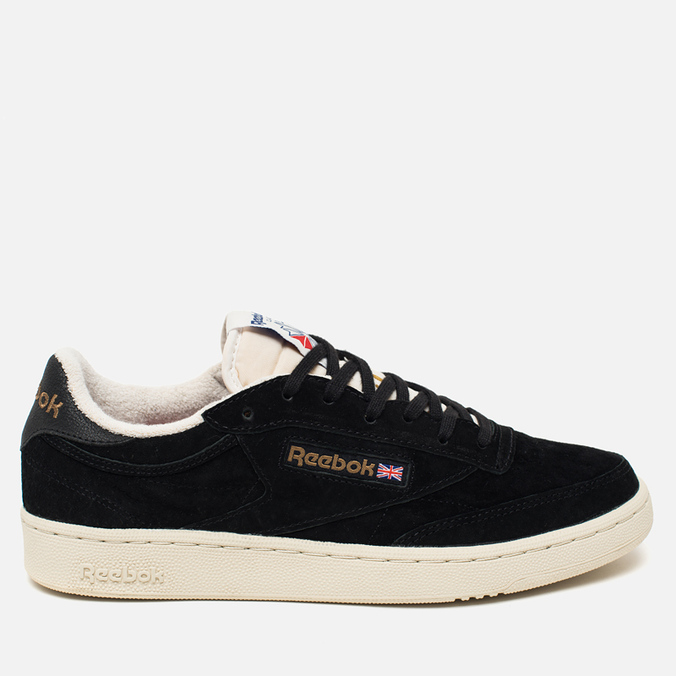 Кроссовки Reebok Club C 85 UJ Black/Chalk/Paperwhite/Motor Red