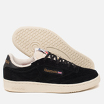 Кроссовки Reebok Club C 85 UJ Black/Chalk/Paperwhite/Motor Red фото- 1