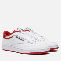 Кроссовки Reebok Club C 85 35th Anniversary White/Legacy Red/Black