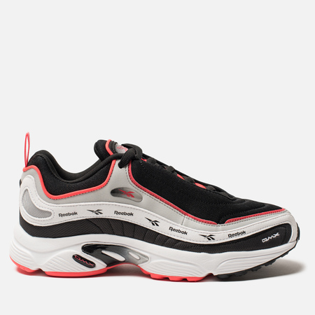 Кроссовки Reebok Daytona DMX Vector Black/Skull Grey/White/Neon Red