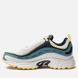 Кроссовки Reebok Daytona DMX Vector White/Collegiate Navy/Mineral Mist/Yellow фото- 1
