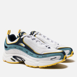 Кроссовки Reebok Daytona DMX Vector White/Collegiate Navy/Mineral Mist/Yellow фото- 2