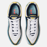Кроссовки Reebok Daytona DMX Vector White/Collegiate Navy/Mineral Mist/Yellow фото- 5