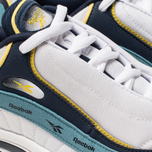 Кроссовки Reebok Daytona DMX Vector White/Collegiate Navy/Mineral Mist/Yellow фото- 6